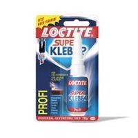 Henkel Loctite, Superkleber Profi flüssig, transparent, 20g
