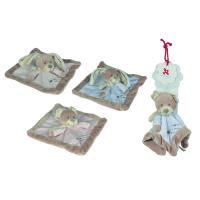 Simba Toys plush Nicotoy Baby Schmusetuch, Cuddles, 4-s.