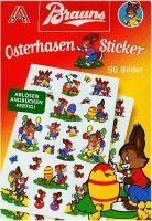 BRAUNS OSTERHASEN-STICKER 50