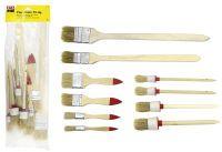 Multipack EASY WORK EW Pinselsatz 10-tlg () - 5 Stück