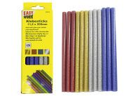 Multipack EASY WORK EW Klebesticks farbig Glitzer () - 6 Stück