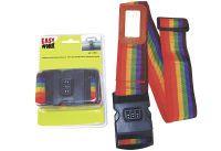 Multipack EASY WORK EW Koffergurt mit Zahlenschloß () - 6 Stück