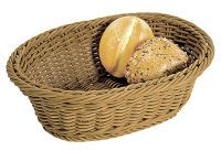 Multipack KESPER Brot-/Obstkorb oval 32,5 braun (19821) - 5 Stück