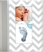 Multipack PEARHEAD Babybuch Winkelz.-Muster, grau (P62203) - 6 Stück