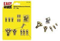 Multipack EASY WORK EW Bilderhakensortiment 27-tlg () - 6 Stück