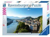 Ravensburger Salzburg mit Blick auf Festung (89351)