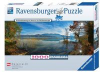 Ravensburger Herbststimmung am Attersee 1000T.Panorama (89347)