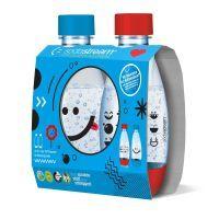 SodaStream, Duo Pack Pet Flasche 0,5 Liter Kids