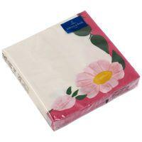 Villeroy & Boch Papier Servietten Rose Sauvage Framboise