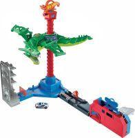 Mattel, City Drachen Luftangriff, Hot Wheels, GJL13