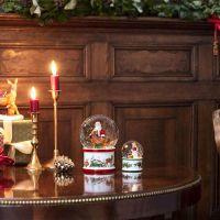 Villeroy & Boch Christmas Toys Schneekugel groß,  Santa und Hirsch