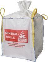 Transportsack Big Bag Länge 900 mm Breite 900 mm Höhe 1100 mm Tragfähigkeit 150 kg Aufdruck: Minera