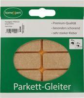 Parkettgleiter Premium 20 x 40 mm Filz natur eckig selbstklebend
