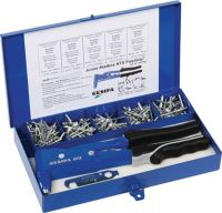 GESIPA Blindnietsortiment Junior-Nietbox PolyGrip® 352 teilig i.Blechkoffer
