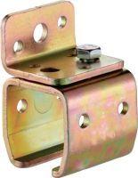 HELM Wandbefestigungsmuffe -01 Modell 101 Profil 100 Stahl galvanisch verzinkt