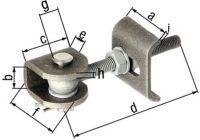 GAH Torband 60x27x45x130x28x50x8x5mm Stahl roh