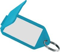Schlüsselanhänger 8160 FS/50 farbig sortiert Kunststoff aufklappbar