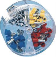 Aderendhülsenbox 100 teilig 4,00 - 16,00 mm² Kunststoffbox