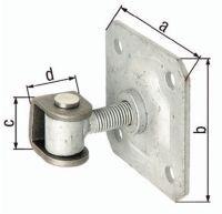 GAH Torband 100x100x37x30mm Stahl roh