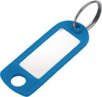Schlüsselanhänger 8033  FS blau Kunststoff Schlüsselring