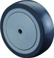 Ersatzrad Rad-D. 50 mm Tragfähigkeit 40 kg Gummi Achs-D. 6 mm Nabenlänge 22,5 mm