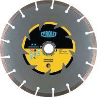 TYROLIT Diamanttrennscheibe DCU Standard D. 230 mm Bohrung 22,23 mm Bau universal 7 mm
