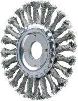 PFERD Rundbürste RBG CT D. 125 mm Drahtstärke 0,5 mm Stahl 12 mm 12500 min-¹