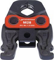 ROTHENBERGER Pressbacke Compact M 19 kN Nennweite 15 mm Metall / NE-Metall passend zu ROMAX Compact