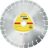 KLINGSPOR Diamanttrennscheibe DT 600 U Supra D. 125 mm Bohrung 22,23 mm 9 mm 20 mm