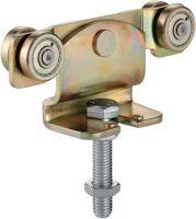 HELM Rollapparat -91 591 passend für Profil 500 Stahl galvanisch gelb verzinkt 300 kg