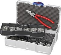KNIPEX Aderendhülsensortiment 1401 teilig 0,75 - 25,00 mm² Crimpzange im Systainer
