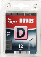 NOVUS Flachdrahtklammer D Typ 53 F Klammerbreite 11,3 mm 12 mm 1,25 mm