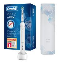 Oral-B Pro 2 2500 White Design Edition mit Reiseetui