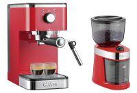 GRAEF Siebträger-Espressomaschine ES 403 salita mit Kaffeemühle CM 203 ()
