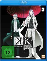 K - Return of Kings - Staffel 2.3 - Episode 10-13 (Blu-ray)
