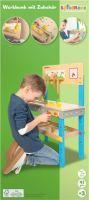 Spielmaus Holz SMH Werkbank mit Zubehör (41606118)
