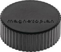 Multipack MAGNETOPLAN Magnet Super Ø 34 mm schwarz 10 Stück