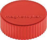 Multipack MAGNETOPLAN Magnet Super Ø 34 mm rot 10 Stück