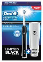Oral-B Professional Care 700 Black mit Reiseetui elektrische Zahnbürste