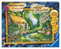 """Ravensburger Malen nach Zahlen Malen nach Zahlen Erwachsene Premium """"Cottage Garden"""" ab 14 Jahre von Ravensburger"""