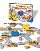 """Ravensburger Kinderspiele """"Wir spielen Baustelle"""" ab 2 Jahre Geografie Spiele von Ravenburger"""