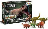 Craze, Dinorex Adventkalender mit 24 Überraschungen, Dinorex, 32x41x4cm, 28186