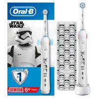 Oral-B Junior Star Wars Gift Pack Elektrische Kinder Zahnbürste
