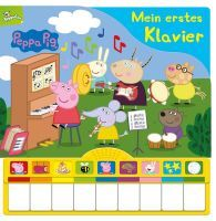 KINDERBUCH PEPPAS KLAVIER M.SOUND 53686