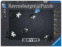 """Ravensburger Erwachsenenpuzzle """"Krypt Black"""" 736 Teile ab 14 Jahre Puzzle von Ravensburger"""
