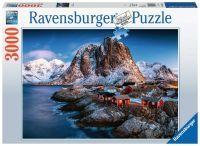 """Ravensburger Erwachsenenpuzzle """"Hamnoy, Lofoten"""" 3.000 Teile ab 14 Jahre Puzzle von Ravensburger"""