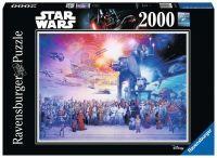 """Ravensburger Erwachsenenpuzzle """"Star Wars Universum"""" 2.000 Teile ab 14 Jahre Star Wars Puzzle von Ravensburger"""