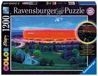 """Ravensburger Erwachsenenpuzzle """"Allianz Arena"""" 1.200 Teile ab 14 Jahre FC Bayern München Puzzle von Ravensburger"""