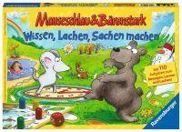 """Ravensburger Kinderspiele """"Mauseschlau & Bärenstark Wissen, Lachen, Sachen machen"""" 5 - 99 Jahre Quiz & Rätsel Spiele von Ravenburger"""