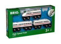 Brio® World BRIO Schnellzug mit Sound, 3teilig (42519162)